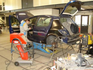 Herstel autoschade voor klant uit Leende